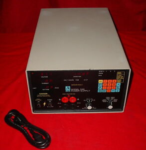 Isco 595 Electrophoresis Hv High Potential Test Power Supply 622280001 90155
