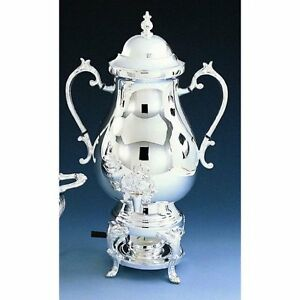 50 Cup Coffee Urn Silverplate 22 3 4 h New Miscellaneous