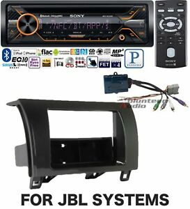 Sony Car Stereo Radio Bluetooth Cd Player Dash Install Mount Kit Harness Antenna