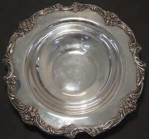 Reed Barton King Francis Silver Plated 1671 Rd Serving Bowl 11 5