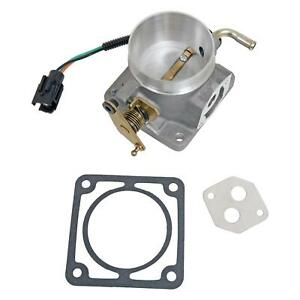Summit Racing Sum 228203 Throttle Body 65mm Aluminum Satin Ford 5 0l Each