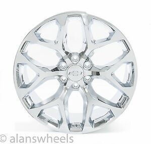 4 New Chevy Suburban Tahoe Chrome 22 Wheels Rims Lug Nuts Free Shipping 5668