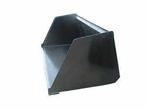 96 High Capacity Turkey chicken Snow litter Skid Steer Loader bucket ship 249