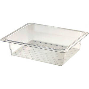 Cambro Perforated Pan Colander 1 2 Gn 3 Deep 6pk Clear 23clrcw 135