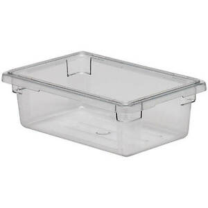 Cambro 3 0 Gal Food Storage Boxes Camwear 6pk Clear 12186cw 135