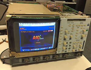Lecroy Lc584axl 10 Crt Monitor Keypad Interface Operator Control Assembly Lc584