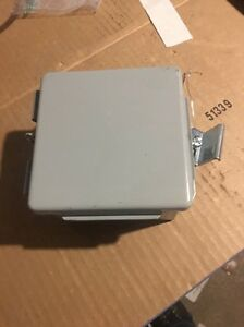 Hoffman Enclosures Junction Box Pn A 404lp 4x4x3 New Fast Free Shipping In Usa Q