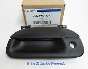 New 97 03 Ford F150 99 07 F250 f350 Super Duty Tailgate Handle W lock Hole Oem