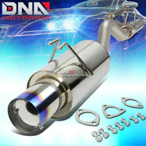 For 2006 2011 Honda Civic Si Fg2 K20 Racing Catback Exhaust 4 muffler Brunt Tip