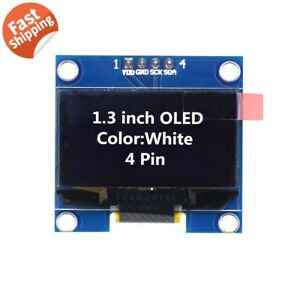1 3 Ssd1106 I2c 128x64 Oled Display Module Board For Arduino White Us Seller