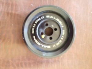 Ford Mustang Saleen Pulley Shive Blower Supercharger 400 Hp 4 6 Engine 2005