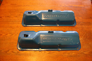 Ford 351c Cleveland Valve Covers 1970 71 72 73 Mustang Cobrajet Boss 302