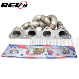 Rev9 Hp Series 4g63 Eclipse Talon Tsi Equal Length Turbo Manifold Gst Gsx 42mm