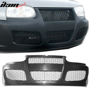 Fits 93 99 Vw Golf 3 Mk3 Gt3 Style Front Bumper Guard Cover Honeycomb Mesh
