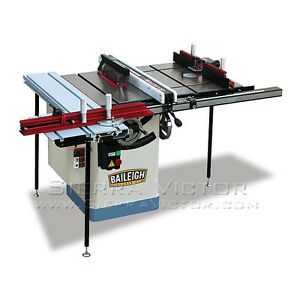 Baileigh Work Station Table Saw Ts 1020ws