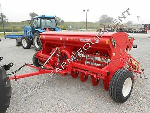 12 Seed Drill W 2nd Box Maschio Alfalfa beans corn hemp warm Seasons Sale