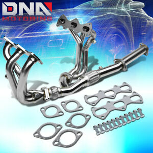 For 07 08 Gk Tuscani Gt Gtp Se 2 7 V6 Performance Header Exhaust Manifold Flex