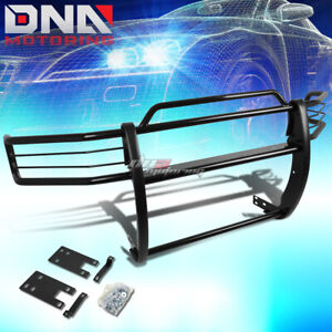 For 99 01 Dodge Ram 1500 Sport Chrome Stainless Steel Front Grill Guard Flame