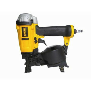 Dewalt 15 degrees 3 4 In 1 3 4 In Coil Roofing Nailer Dwfp12658 New