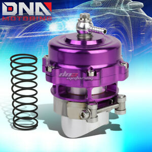 50mm 2 Aluminum Turbo Intercooler 35 Psi Boost V Band Blow Off Valve Kit Purple