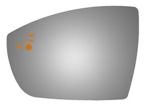 Burco 4542bc Driver Side Mirror Glass W Blind Spot For 13 17 Ford Escape