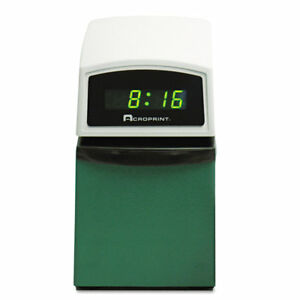Acroprint Time Recorder Etc Digital Automatic Time Clock With Stamp