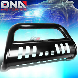 For 16 17 Toyota Tacoma Pickup Truck Stainless Steel Black Bull Bar Grill Guard