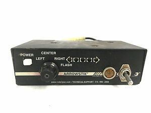 Modified Code 3 Narrowstik Arrowstik Led Lightbar Controller Control Head 020667
