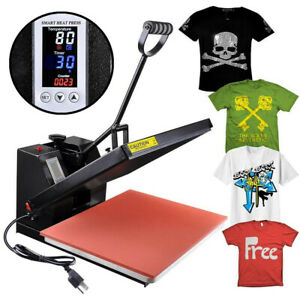 16 x20 Heat Platen Press Machine Digital Sublimation Transfer Printing T shirt