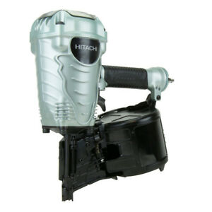 Hitachi 16 degree Wire Collated 3 1 2 In Coil Framing Nailer Nv90ag s New