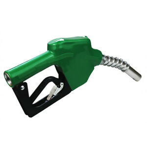 Automatic Refuelling Nozzle Diesel Oil Petrol Dispensing Fuel Transfer Grn