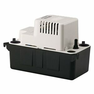 Little Giant Vcma 20uls 1 30 Hp 1 2 Abs Gallon Tank Condensate Removal Pump