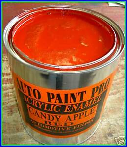 Candy Apple Red Code T Ford Acrylic Enamel Auto Body Shop Car Paint Kit