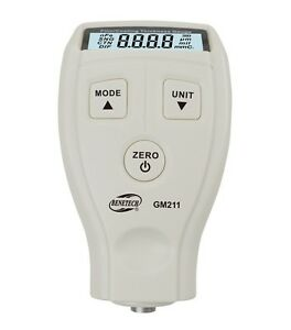 Coating Thickness Gauge High Precision Meter Magnetic And Non Magnetic 0 1500um