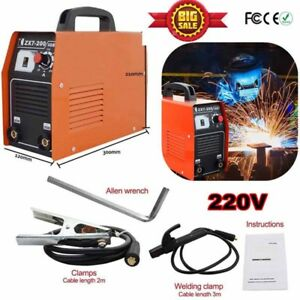 200amp Stick Arc Welder Inverter Welding Machine 220v Inverter Soldering Station