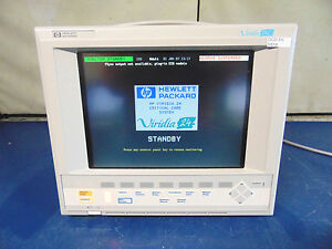 Hp Viridia M1204a 24c Patient Vital Sign Monitor R914