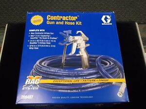 Graco Airless Paint Gun 288487 Racx Hose Kit Whip Hose Tip Free Shipping