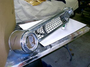 1955 Ford Car Grill Grille Good Driver Cool Custom L K