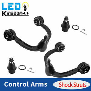 4x Upper Control Arm Lower Ball Joint Kit For Ford F 150 Lincoln Mark Lt 2wd 4wd