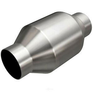 Magnaflow 53956 Universal High flow Catalytic Converter Round Spun 2 5 In out