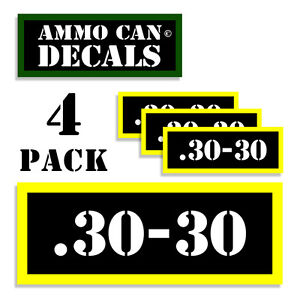 30-30 Ammo Can Labels for Ammunition Case 3