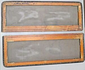 Vintage Original Screen Window Woodie Woody Chevrolet Ford Car Auto 1949 Wagon