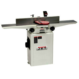 Jet 708457dxk 6 In Jj 6csdx Deluxe Long Bed Jointer With Qs Knives New