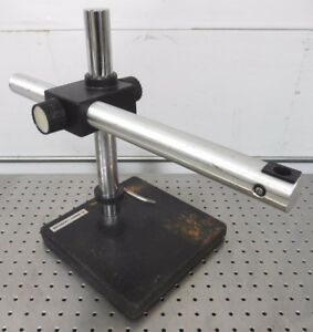 C138813 B l Bausch Lomb Microscope Boom Stand W Weighted Base