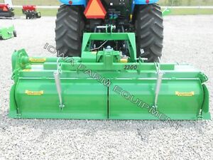 Tractor 3pt H dty Pto Rotary Tiller 83 Valentini H2000 Qh Compat 100hp Gbox