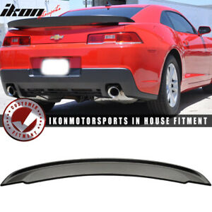 Fits 14 15 Chevy Camaro Factory Z28 Style High Rear Wing Trunk Spoiler