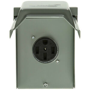 Ge U054p Power Outlet Panel 50 Amp