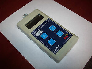 Fis Handheld Fiber Optic Power Meter Ov pm F18513hhcatv Laser Optics
