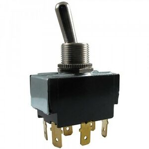 Carling 3 Position Toggle Switch Dpdt