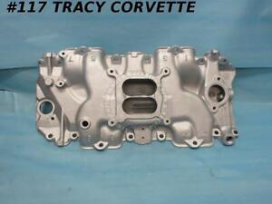 1970 1971 Corvette Intake Manifold 3963569 Ls6 454 Low Rise Large Port Aluminum